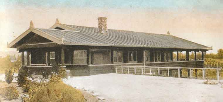 Photo of Original Clubhouse, Country Club in Riverside, CA